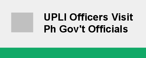 UPLI Officers Visit Ph Gov't Officials